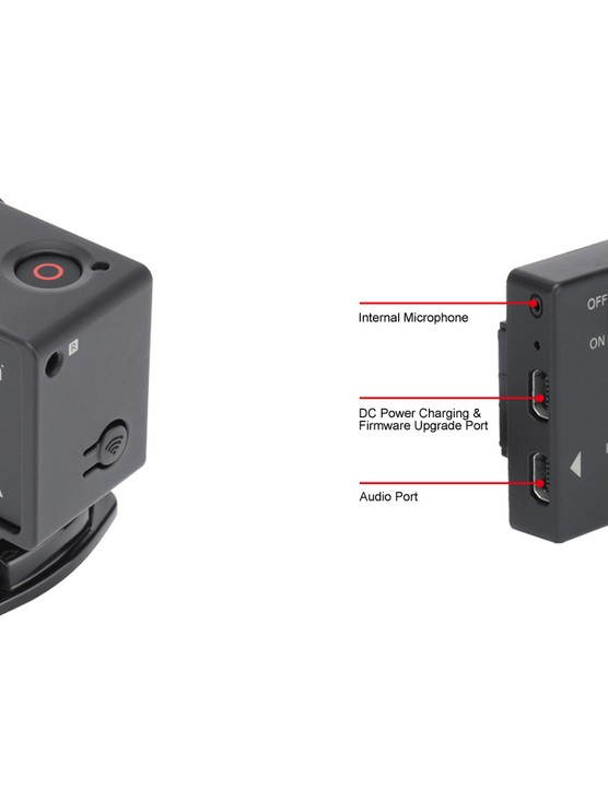 The Sena Technologies Bluetooth Audio Pack plugs directly into the back of the GoPro Hero3 and connects to any Bluetooth-enabled headset or microphone