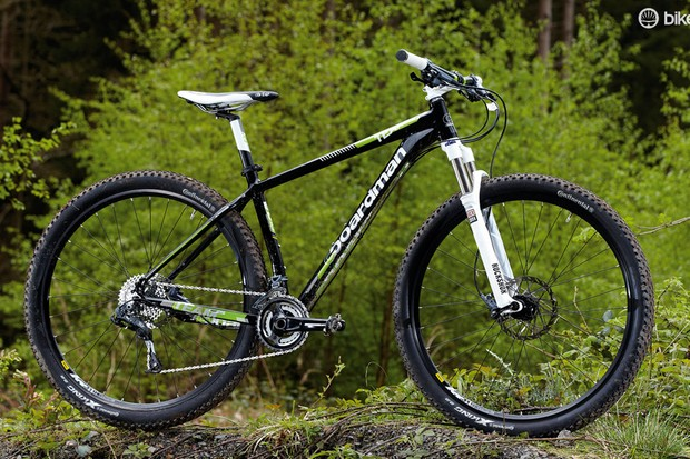 The Boardman Team 29er is a well-finished machine (with the exception of those white grips)