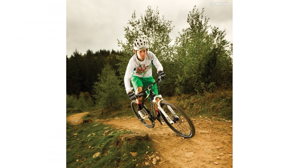 The Team 29er's rear end is uncompromisingly short and stiff, with responsiveness – and ride quality – to match