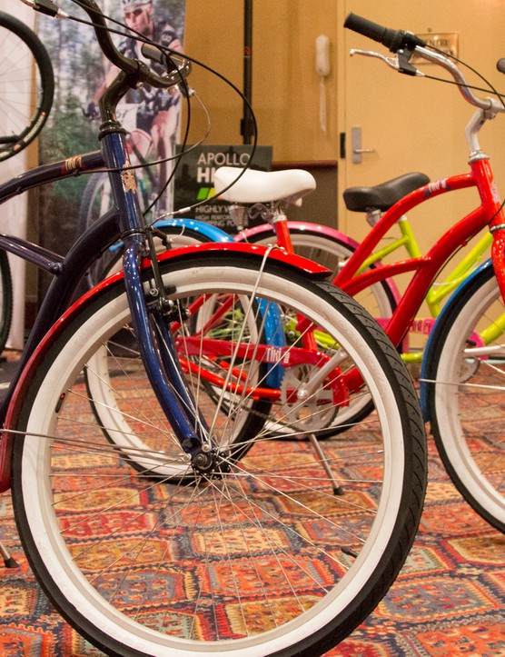 The Tiki cruiser bikes are in line with the retro beach cruiser popularity