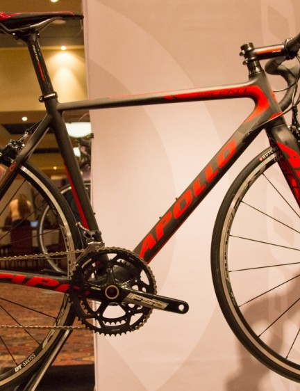 With a touch of Dura-Ace, the $3,000 Apollo Ascent is likely to outperform its pricetag