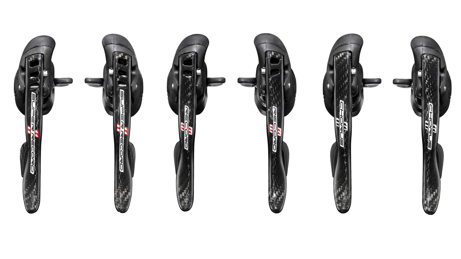 The 2015 Campagnolo ErgoPower levers get a subtle reworking of the trim settings plus a new hood design