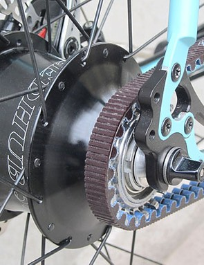Rohloff Speedhub plus Gates belt-drive is just one of the build options on the Stoater Plus