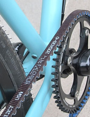 Middleburn provides the custom RS8-X chainset with a Gates-specific chainring