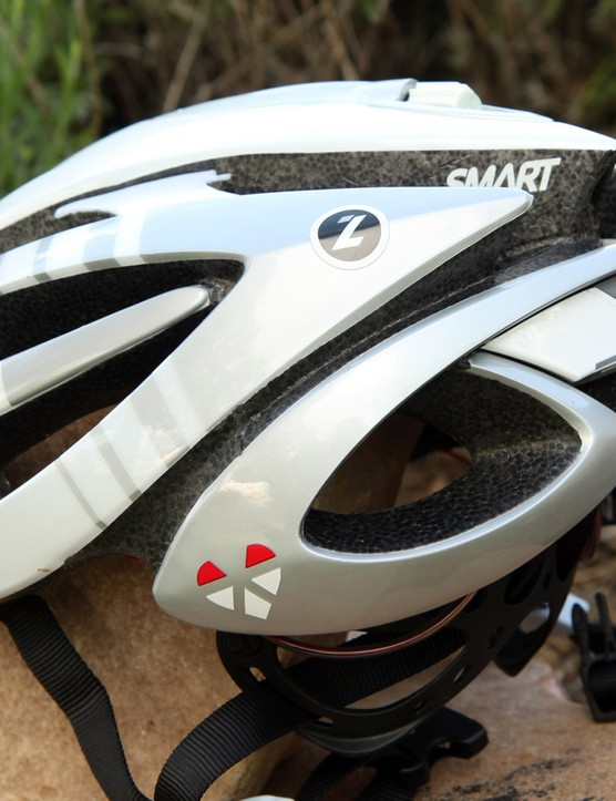 From the outside, there's little to indicate that you've got a heart rate monitor on your head