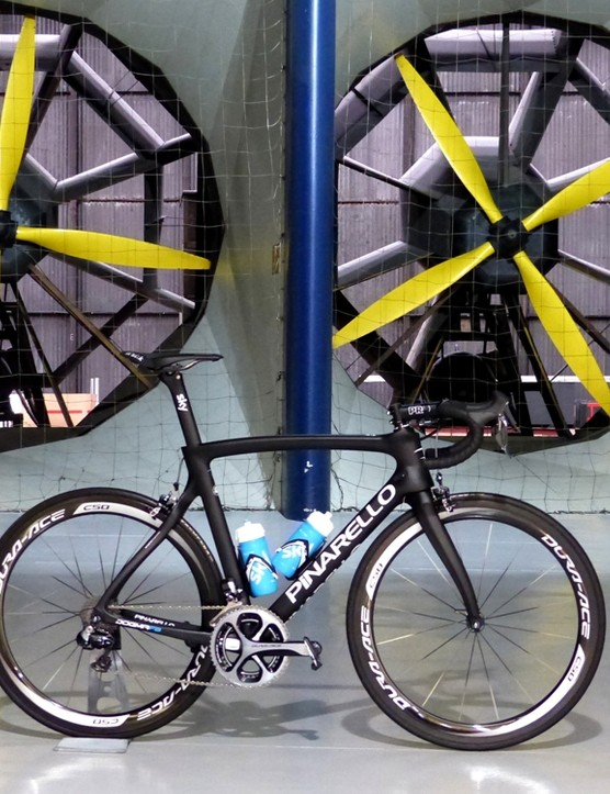 Pinarello Dogma F8: tunnel tested