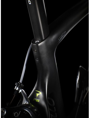 Neat seatpost clamp mechanism on the Pinarello F8