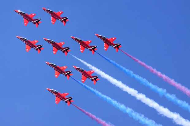 The Red Arrows are set to perform at the start of the Tour de France