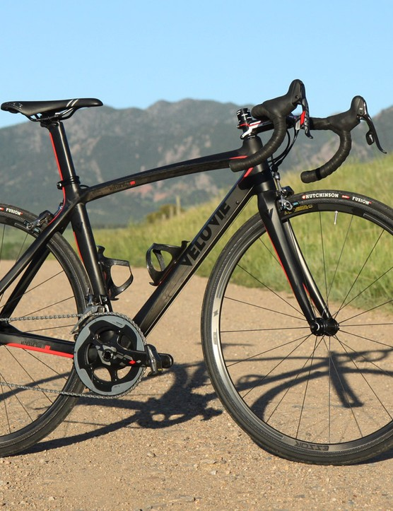 Velo Vie's Vitesse 500 largely delivers in terms of performance, but the finish work leaves much to be desired