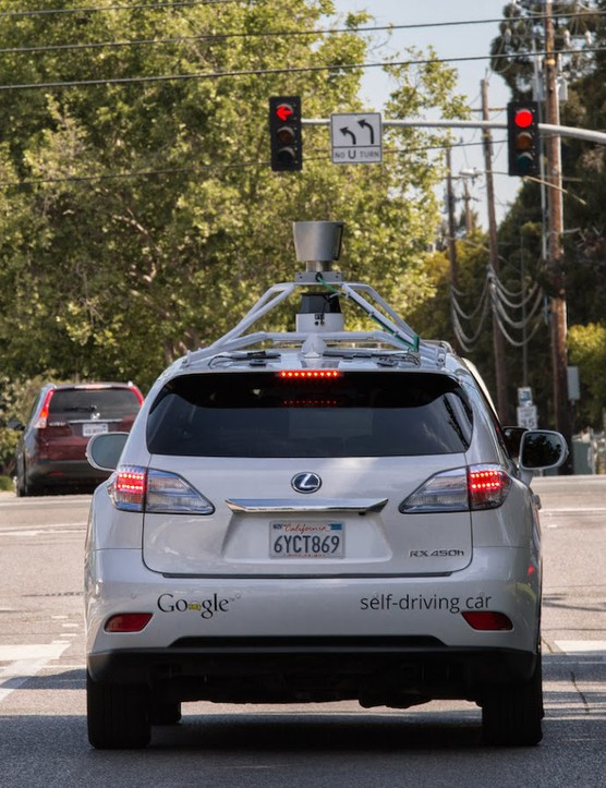 Google's self-driving cars use software that can detect hundreds of distinct objects simultaneously — including cyclistst