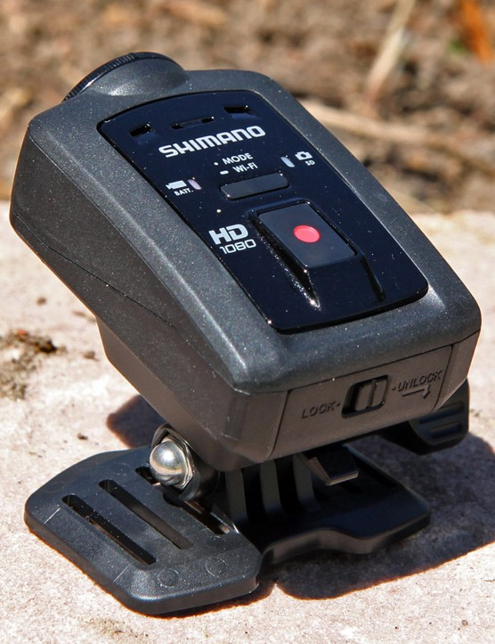 Shimano's new Sport Camera CM-1000 packs an impressive array of features into a very compact package
