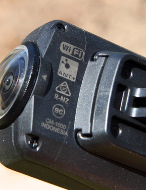 The inclusion of ANT+ allows the Shimano Sport Camera CM-1000 to capture other parameters such as power and heart rate