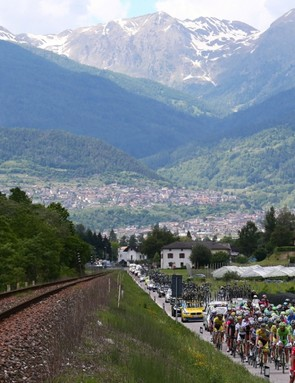 The Giro always delivers on scenery and high-drama racing