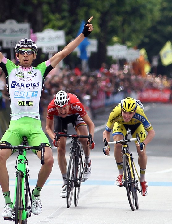 Stefano Pirazzi notched a win on stage 17