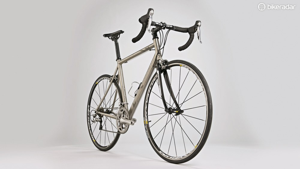 The Silk Road's frame is traditional-looking, but with some pleasing modern touches to aid stiffness and comfort