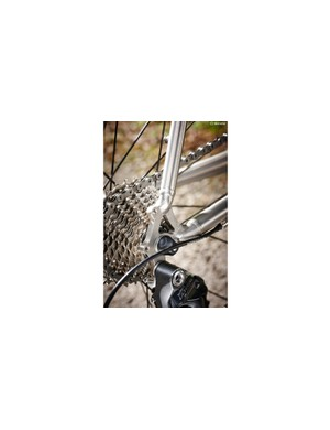 Mudguard and rack eyelets open up winter and touring possibilities
