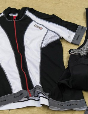 Lusso bib shorts and short-sleeve jersey