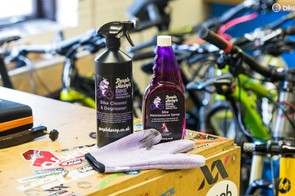 Purple Harry cleaning products