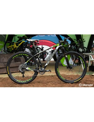 Hermida chooses the Big.Nine over the smaller wheeled Big.Seven because of its extra control, speed and roll-over ability
