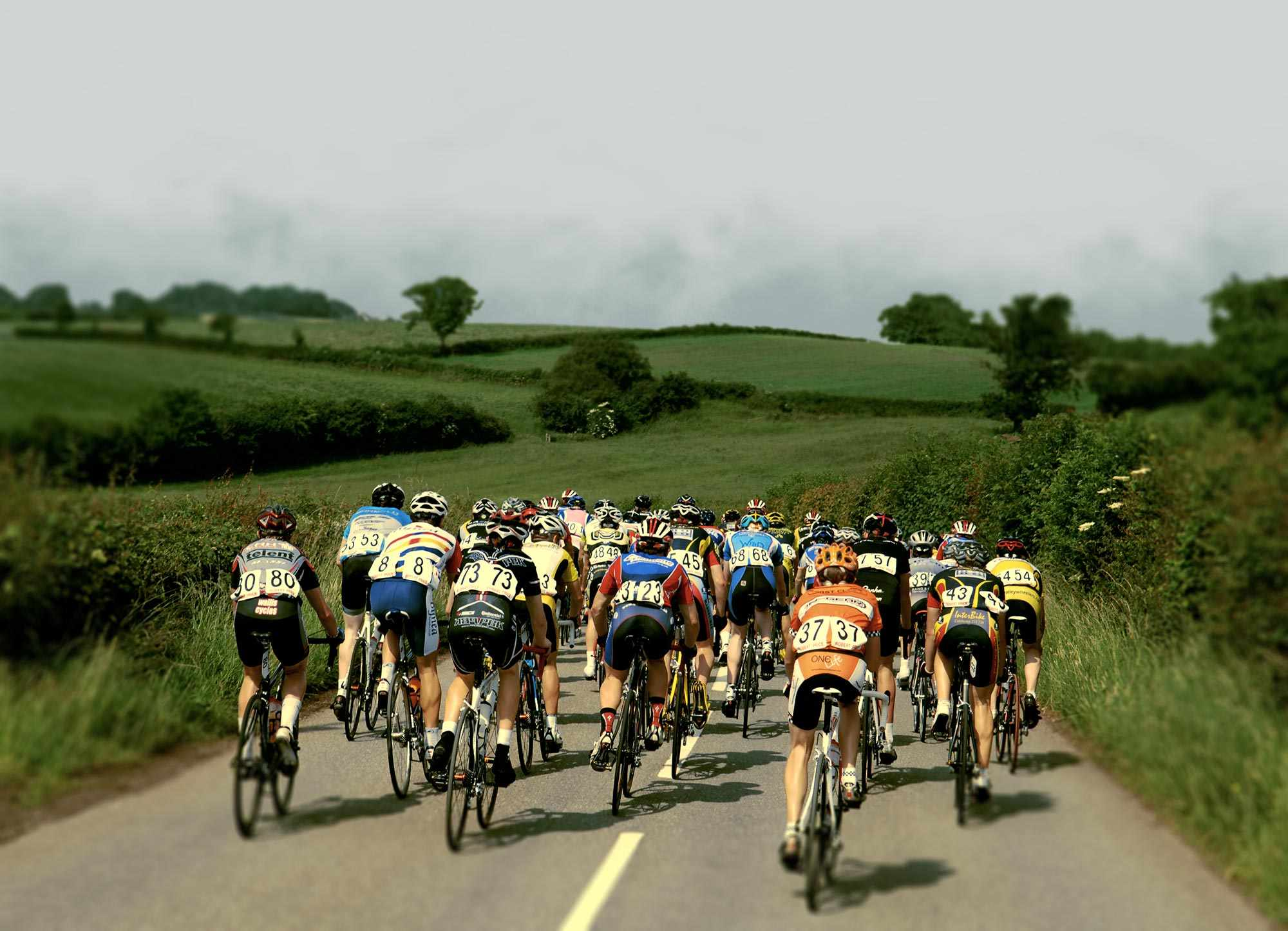 Riders taking part in the National Road Race Championships