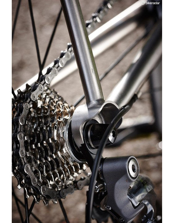 We also benefited from a full Shimano 105 groupset