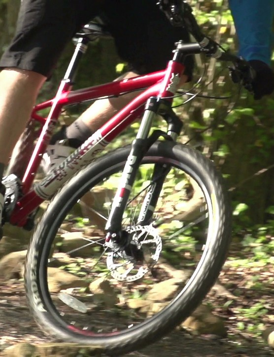 It is possibe to buy a great mountain bike for under £500 - just follow James Tennant's lead