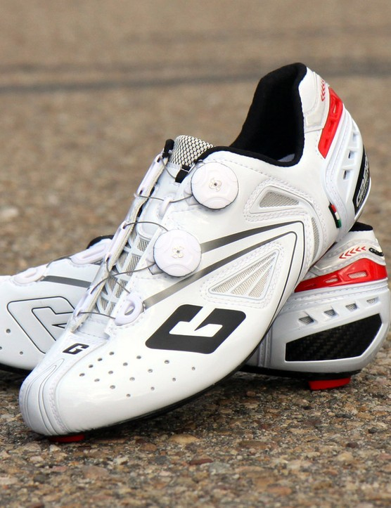 The Gaerne Speedplay Carbon G.Chrono shoes are stiff and comfortable, and they look good too