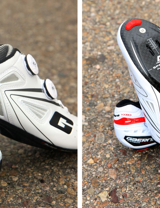 The burly carbon plate and stout heel cup work together to lock your feet in place