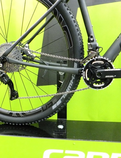 XTR can be used as a single or double-ring system, with either two or just a single shifter controlling one or both derailleurs