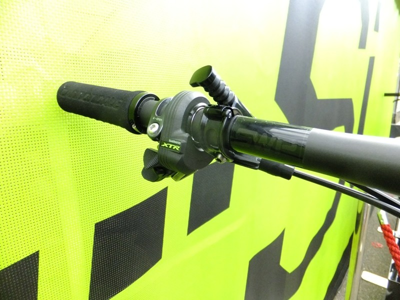 The left shifter can be used as a bailout on bikes using Synchronized Shift, and can over-ride the system should the rider choose