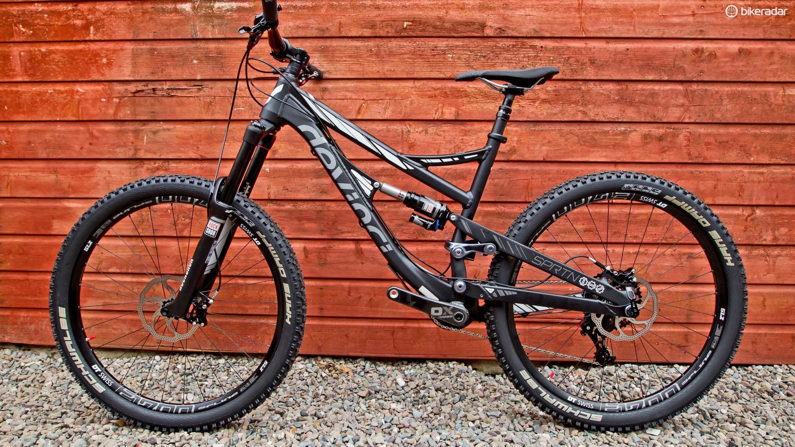 The Spartan is Devinci's new enduro race bike