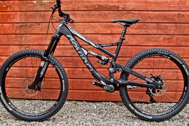 The Spartan is Devinci's new enduro race bike