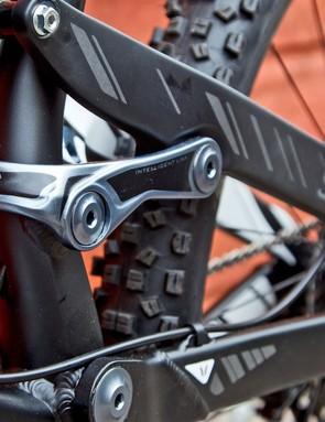 Devinci Spartan has 165mm of rear suspension