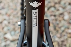 The Spartan has its origins in the project to create a short-travel downhill bike for Stevie Smith to race the pedal-heavy track at last year's DH world champs in Pietermaritzburg, South Africa