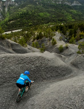 The Trans-Provence trails were host to a variety of different terrain and the Maxxis High Roller II tyres were reliable throughout