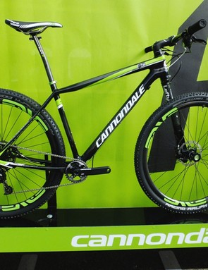 Cannondale's new F-Si Carbon Team, with XX1, Enve wheels and their Lefty 2.0 Carbon XLR