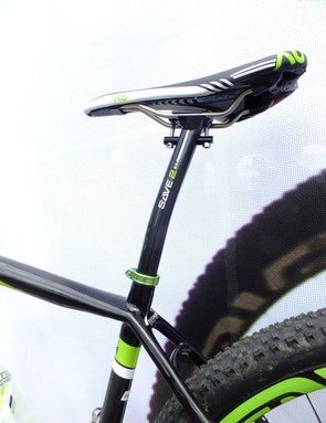 Cannondale's Save 2 post has a more linear spring weight, so say Cannondale, to add comfort for all weights of riders