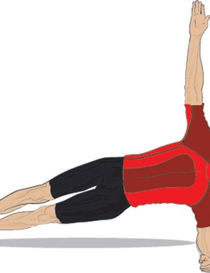 Here's how to do the side plank