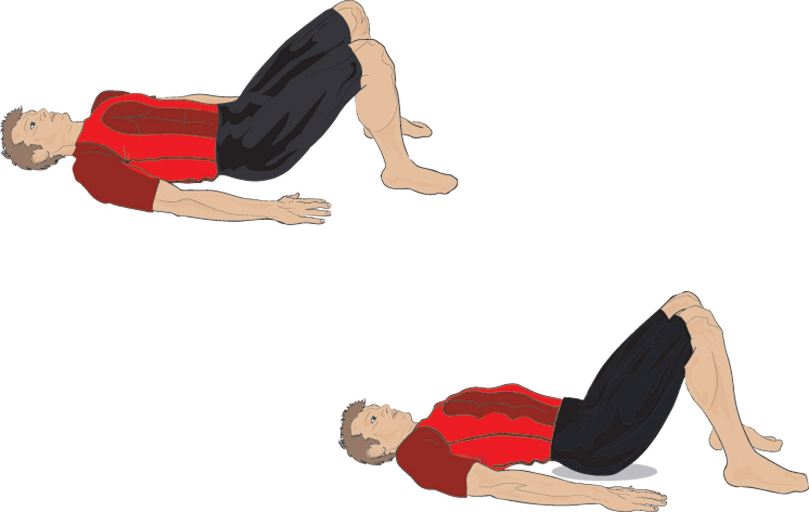 Here's how to do pelvic tilts