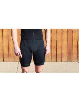 Assos S7 Équipe bib shorts feature a chamois that isn't stictched into the short body on the upper sides or between the legs