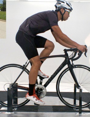 You can feel differences in aerodynamic drag if the difference is big enough - and if you switch to a different frame of reference. If sticking your open hand out the car window while traveling at 70km/h is analogous to a round-tubed road bike with shallow wheels, a standard helmet, and semi-form fitting kit…