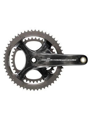 Campagnolo Chorus EPS features a new four-bolt spider design, compatible with compact and standard chainrings