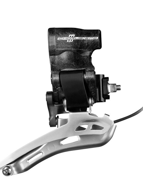 The new Campagnolo front derailleur