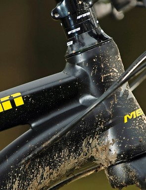 The frame packs in all Merida's metal manipulating know-how