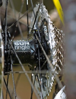 Sun Ringle wheels give easy tubeless compatibility thanks to the licenced Stan's rims