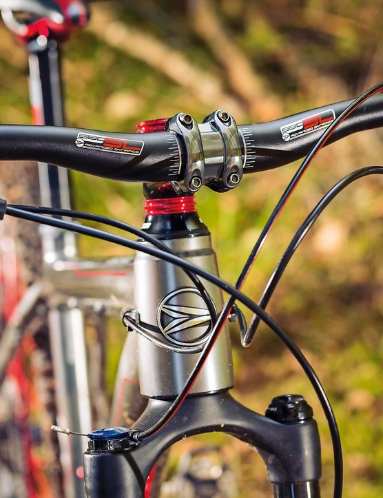 Cockpit components are bang on the money, though some may not like the sweepy bars