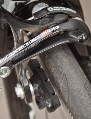 Record Skeleton front brake
