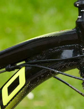 Norco's designers have decided to forgo the added stiffness and strength benefit of a tapered head tube