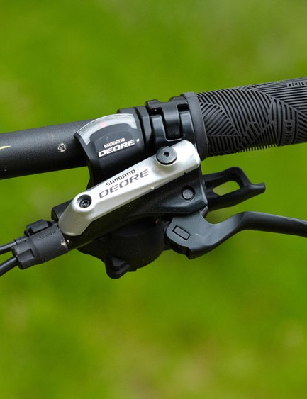 Deore shifter and brake lever