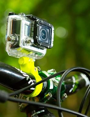 Bar-mounted camera
